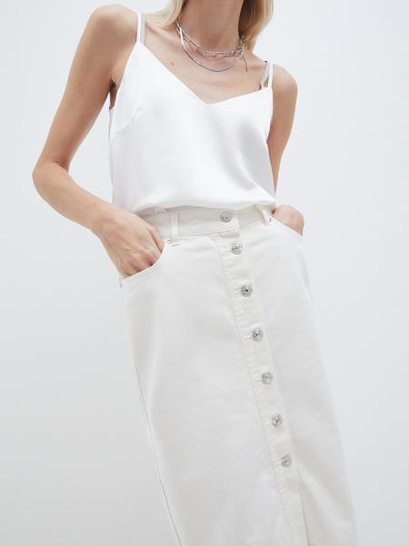 Джинсовая юбка - фото 5
