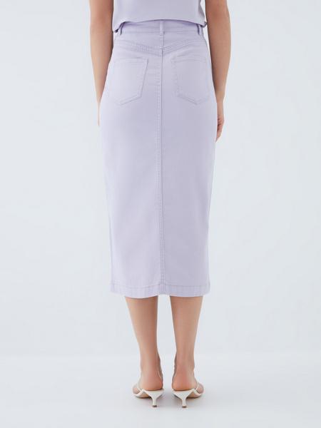 Джинсовая юбка - фото 3