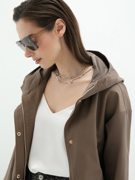 Куртка с капюшоном - фото 3