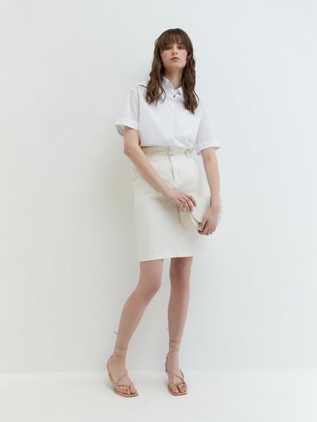 Джинсовая юбка - фото 4