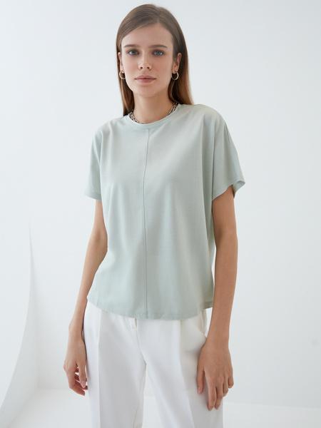 Струящаяся блузка - фото 1