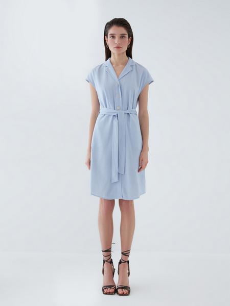 Платье изо льна - фото 1