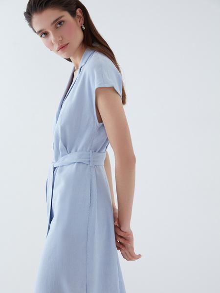 Платье изо льна - фото 4