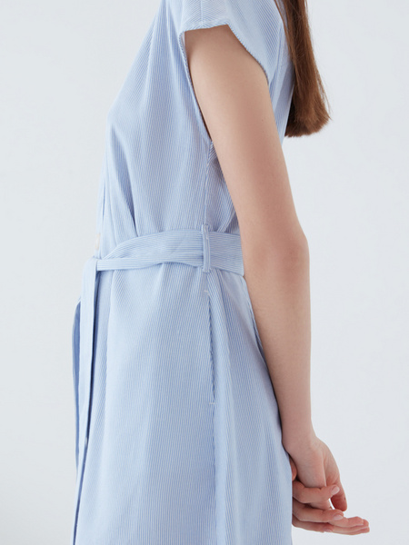 Платье изо льна - фото 6