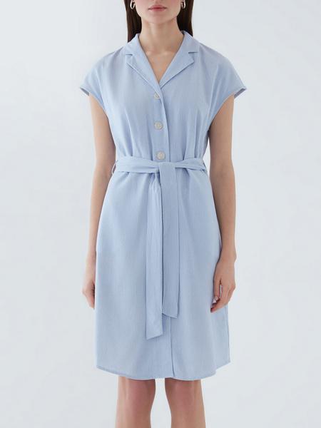 Платье из льна - фото 7