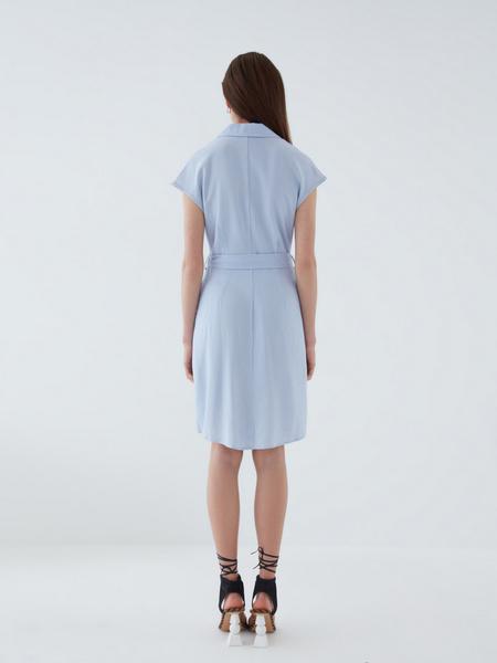 Платье из льна - фото 9