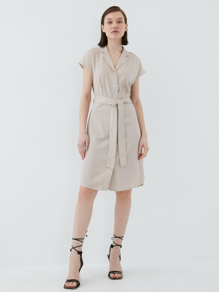Платье из льна - фото 1