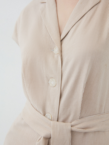 Платье из льна - фото 4