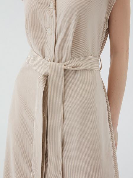 Платье из льна - фото 5