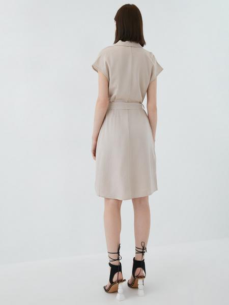 Платье из льна - фото 8
