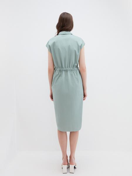 Платье из хлопка - фото 4