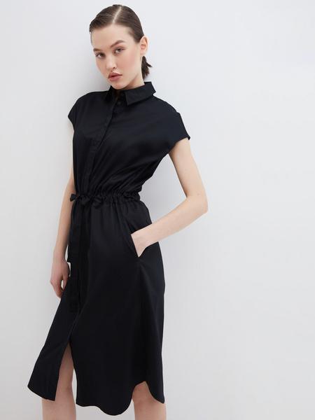 Платье из хлопка - фото 1