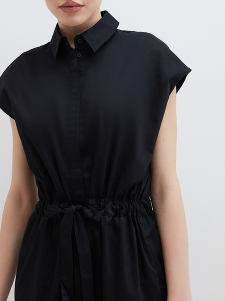 Платье из хлопка - фото 6