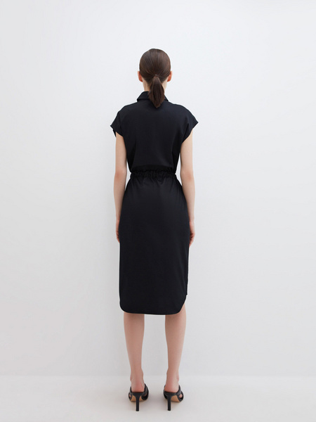 Платье из хлопка - фото 7