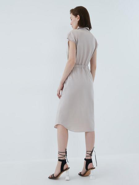 Платье из хлопка - фото 11