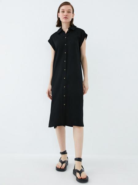 Платье-рубашка - фото 10