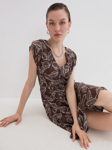 Платье А-силуэта - фото 1