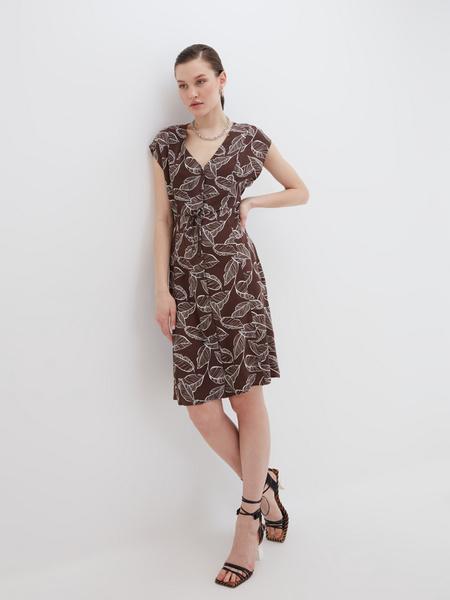 Платье А-силуэта - фото 2