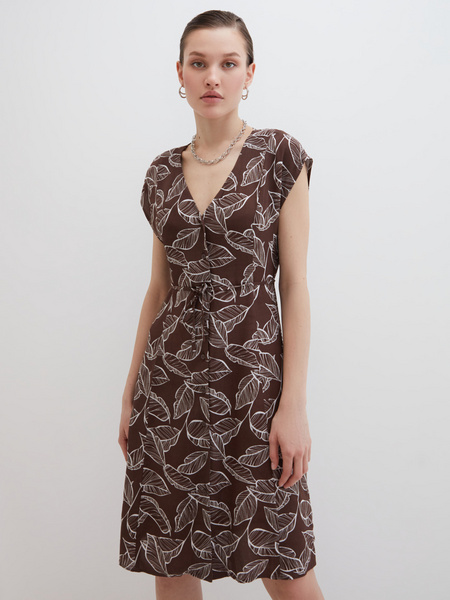 Платье А-силуэта - фото 3