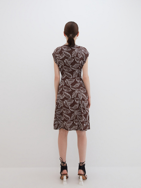 Платье А-силуэта - фото 7