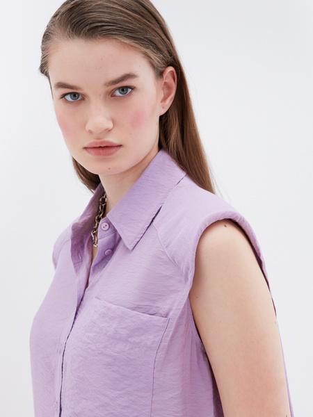Блузка без рукава - фото 3