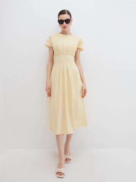Платье с драпировкой - фото 1