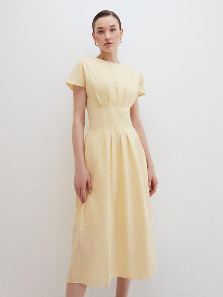 Платье с драпировкой - фото 2