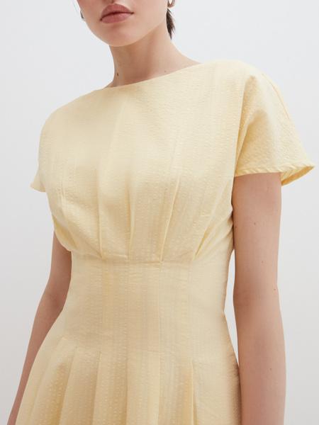 Платье с драпировкой - фото 3