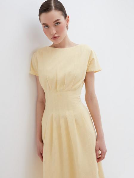 Платье с драпировкой - фото 4