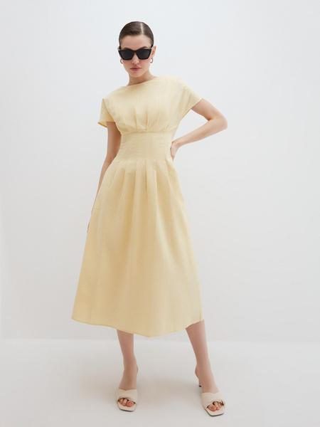 Платье с драпировкой - фото 6