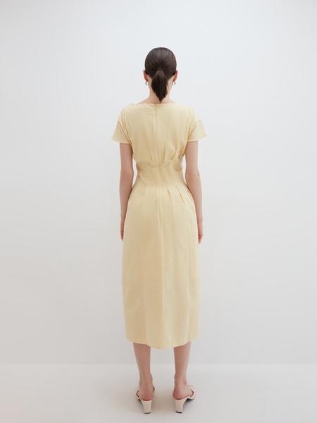 Платье с драпировкой - фото 7