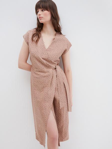 Платье с запахом - фото 1