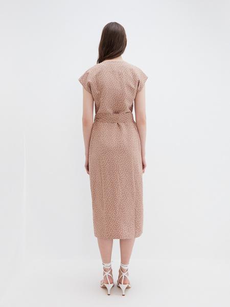 Платье с запахом - фото 5