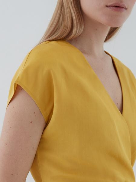 Платье с запахом - фото 3