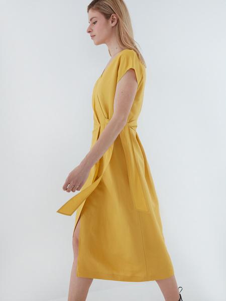 Платье с запахом - фото 7