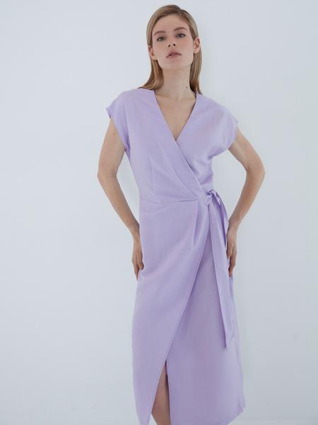 Платье с запахом - фото 2