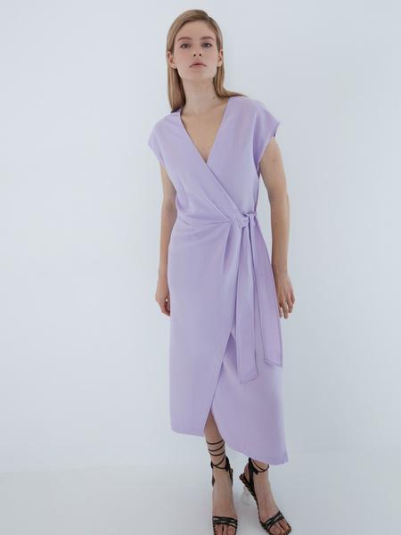 Платье с запахом - фото 6