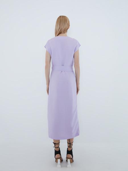 Платье с запахом - фото 9