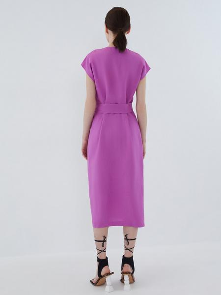 Платье с запахом - фото 11