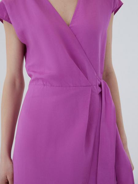 Платье с запахом - фото 4