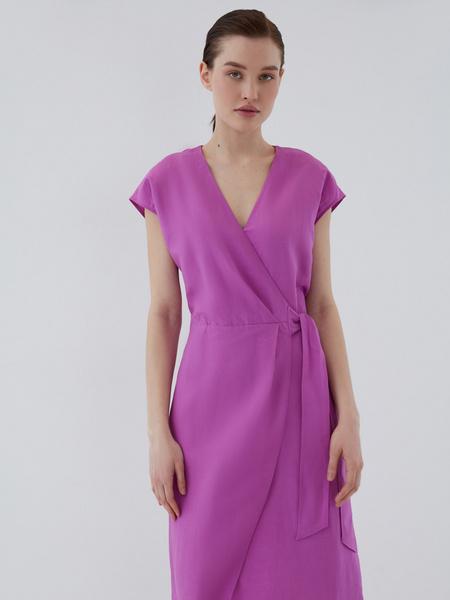 Платье с запахом - фото 8