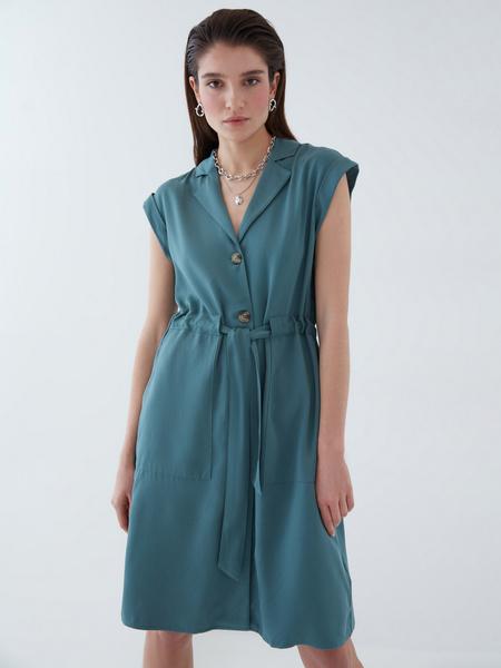 Платье с карманами - фото 2