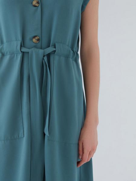 Платье с карманами - фото 5
