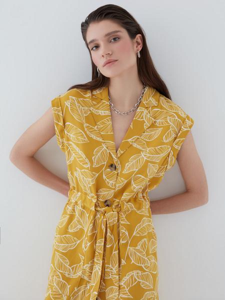 Платье с карманами - фото 4