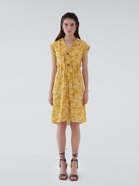 Платье с карманами - фото 8