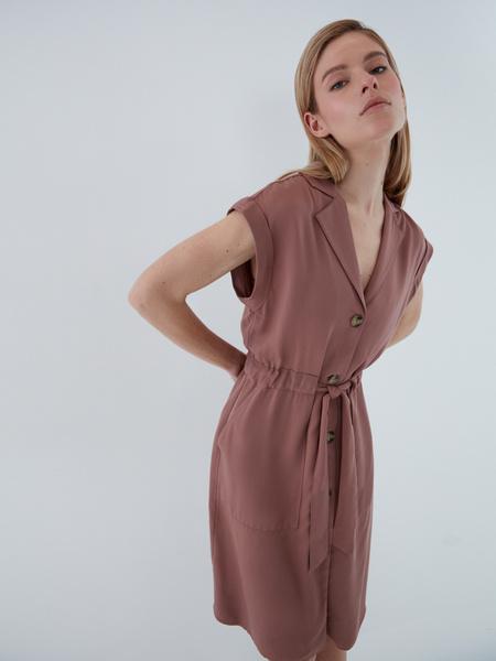 Платье с карманами - фото 7