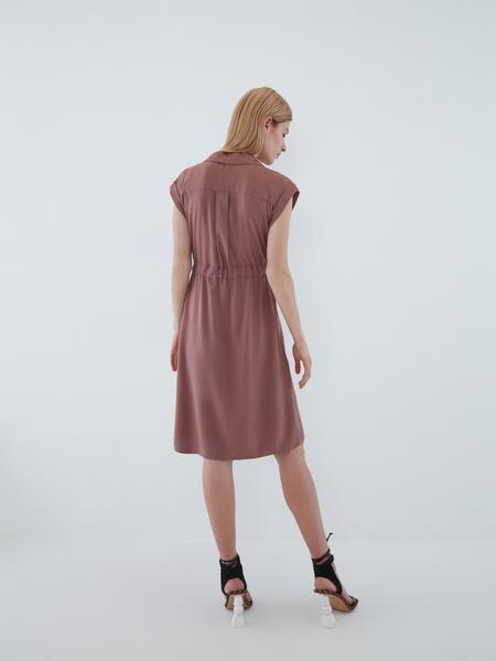 Платье с карманами - фото 9
