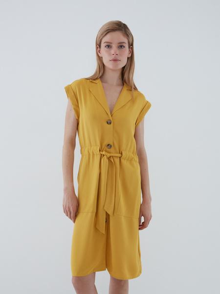 Платье с карманами - фото 6