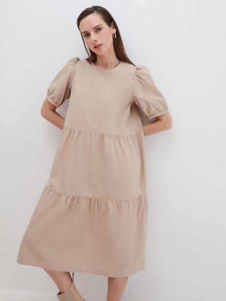 Платье с воланами - фото 5