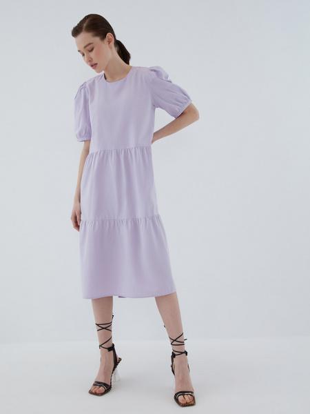Платье с воланами - фото 12